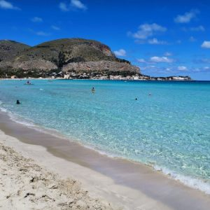 Private Tour of Sicily - Mondello beach - Palermo